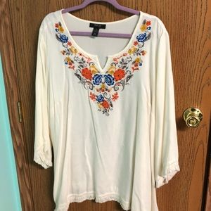 Style & Co tunic 3XL